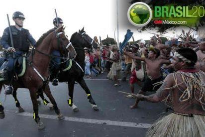 Los indígenas brasileños se manifestarán en tres estadios durante el Mundial