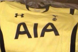 Así vestirá el Tottenham la próxima temporada