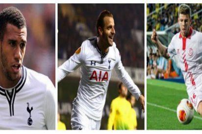 El Tottenham ofrece 17 kilos más Soldado y Capoue por Alberto