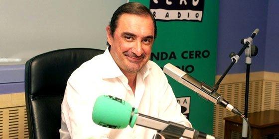 """Carlos Herrera: """"Uno ve 'laSecta' y parece que aquí hay fiebre republicana encoletada"""""""