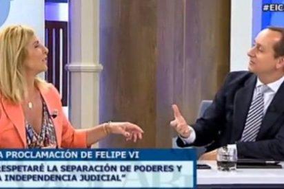 """Carmen Tomás: """"Carlos Cuesta me ha dicho que había más militares en su jura de bandera que en la proclamación de Felipe VI"""""""