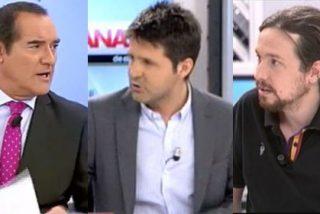 """Antonio Jiménez, sarcástico sobre el programa de Cintora con Pablo Iglesias y su padre: """"Fue un publirreportaje magnífico"""""""