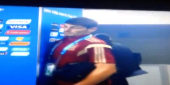 Periodistas chilenos se rieron de Casillas en sala de prensa