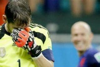 Casillas pide perdón tras la derrota...