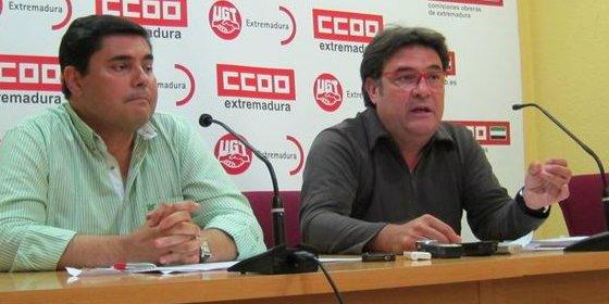 """CCOO y UGT esperan que la reunión con Monago """"no sea una foto más"""""""
