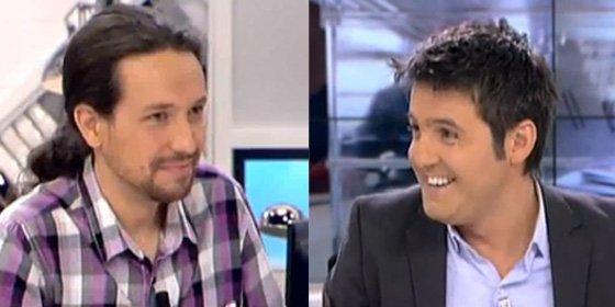 """laSexta quiere atar a Pablo Iglesias y él les da calabazas: """"Tengo un compromiso moral con Cintora"""""""