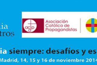 """""""La familia siempre: desafíos y esperanza"""", título del XVI Congreso Católicos y Vida Pública"""