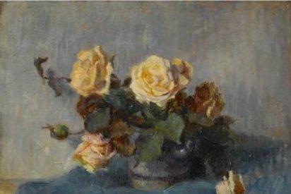 'Ramo de rosas', un cuadro inédito de Gauguin, a subasta en Londres