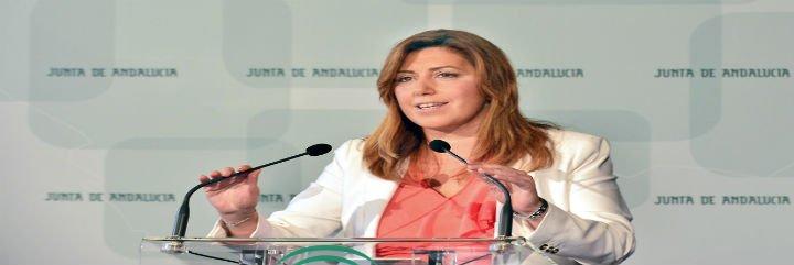 La presidenta de la Junta de Andalucía le envía una carta al Papa y le propone un encuentro para hablar del paro