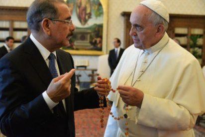 El Papa se reúne con el presidente de República Dominicana