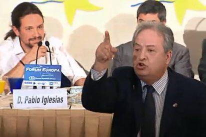 Casillas, el camarero del 25-S, carga contra Pablo Iglesias tras perder su trabajo