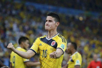 """James Rodríguez: """"Me gusta un poco más el Real Madrid que el Barcelona"""""""