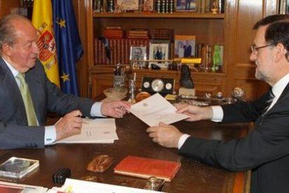Rajoy anuncia la abdicación del rey Juan Carlos I