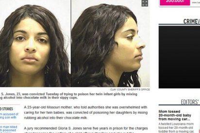 Una desquiciada envenena a sus gemelas con alcohol porque no dejaban de llorar