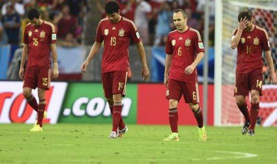 La prima de España por quedar eliminados en la fase de grupos