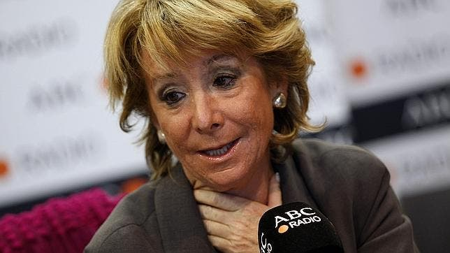 En Génova 13 el desmarque electoral de Esperanza Aguirre tras el 25M ha causado estupor