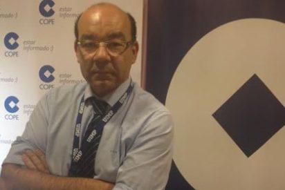 """Ángel Expósito: """"El problema en COPE ahora es encontrar un comunicador parecido a Buruaga"""""""