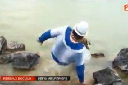 [Vídeo] Un estúpido 'desafío' viral de Facebook acaba con un chico ahogado en un río