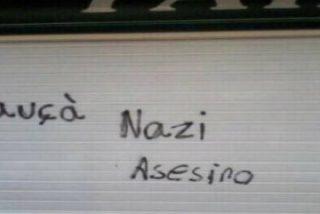 "Vuelven a 'cargar tintas' en la farmacia del presidente Bauzá: ""Nazi, asesino"""