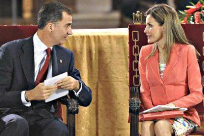 La tensión entre los Príncipes y Cristina se cuela en el acto de proclamación