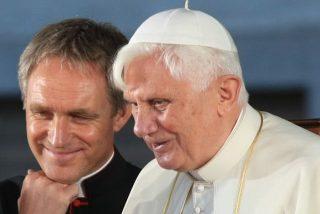 """Gaënswein: """"Benedicto XVI sigue el Pontificado de Francisco por los medios"""""""
