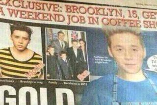Beckham tiene que trabajar en un bar