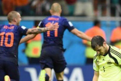 Robben habla sobre los fallos de Casillas