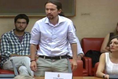 """La casta de Pablo Iglesias: """"Prometo acatar la Constitución hasta que los ciudadanos la cambien"""""""
