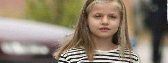 La infanta Leonor desfilará a paso ligero para ser la futura jefa suprema de las Fuerzas Armadas