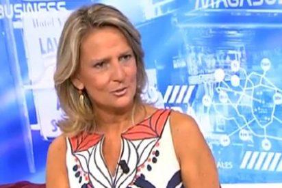 "Isabel San Sebastián: ""Cintora no ejerce de moderador, sino de mánager de Pablo Iglesias"""