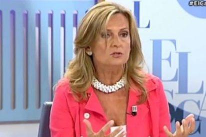 """Isabel San Sebastián: """"Está adoptando los peores vicios de la casta a un ritmo vertiginoso, de aquí a un mes está robando"""""""