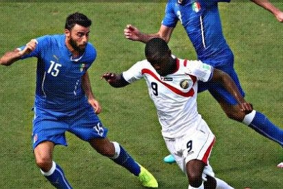 La linda Costa Rica se carga también a la veterana Italia (1-0)