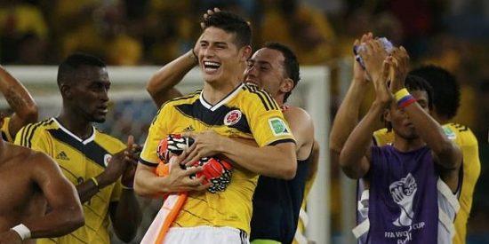 Colombia vence a Uruguay y se clasifica por primera vez para los cuartos de final de un Mundial