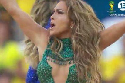 Jennifer López conquista Brasil con su increíble escote