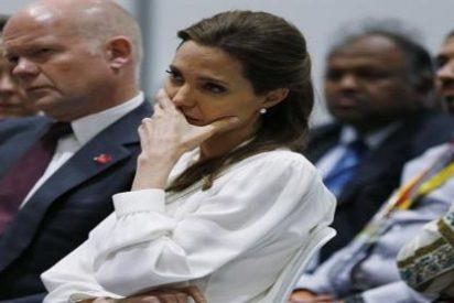 Así vive Angelina Jolie su 'traumatizada' cumbre contra la violencia sexual