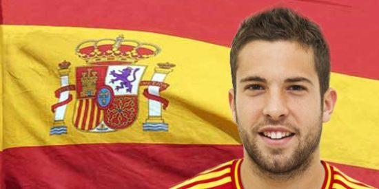 Tremenda bronca entre Jordi Alba y un periodista español en el avión