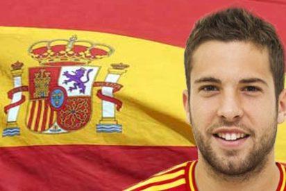 Primer tuit de Jordi alba tras el encontronazo con un periodista