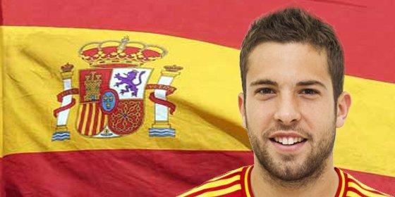 Jordi Alba no jugará ante Holanda por un problema en los dientes