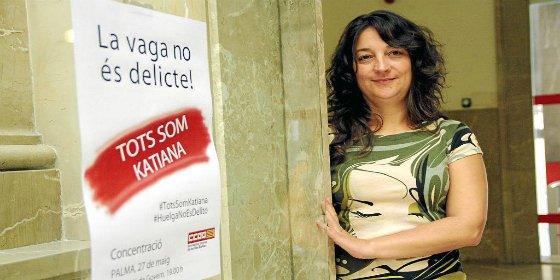 CCOO pretende salvar ahora de la quema a Katiana Vicens a simple golpe de firma