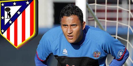 Keylor Navas le hace un guiño al Atlético