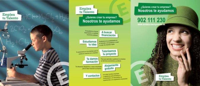 La fundación 'Andalucía Emprende' opera como una agencia de colocación del PSOE