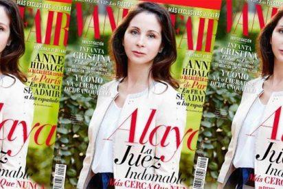 La juez Alaya, portada del Vanity Fair: la 'indomable' sucumbe a los cantos de sirena de la prensa rosa