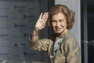 """La Reina Sofía: """"Me encuentro igual que antes, todo va a seguir igual"""""""