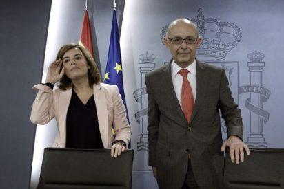 El ministro Montoro enfada al PP por arruinar una rebaja fiscal en buena línea