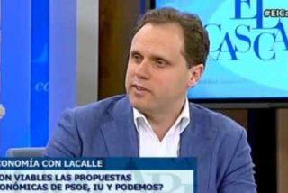 """Daniel Lacalle deja al desnudo las ideas económicas de Podemos: """"Nos iríamos al precipicio"""""""