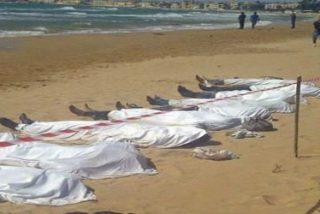 Letanías por los inmigrantes muertos en el Mediterráneo