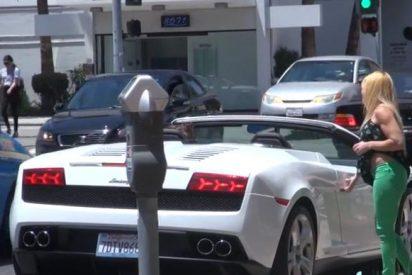 [Vídeo] Cómo ligar sin abrir siquiera la boca...si tienes un Lamborghini