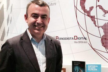 """Lorenzo Silva: """"Mis novelas son muy realistas con las relaciones del poder judicial, político y de seguridad y sus presiones"""""""