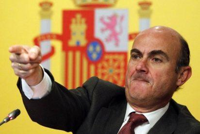"""Luis de Guindos : """"No existe un inversor racional que piense que la independencia de Cataluña es un escenario viable"""""""