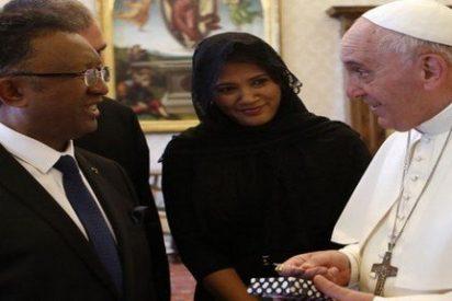 El Papa recibe al presidente de Madagascar
